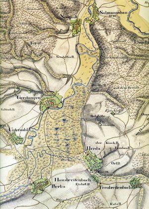 Karte Thüringen.Kulturlandschaftsportal Thüringen Historische Karten In Thüringen